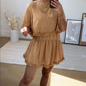 Tier frill dress